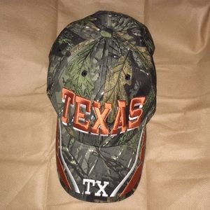 Other - Texas Camo Baseball Cap